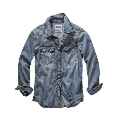 Levi's Jungen Levi`s-Shirt KIDS blau 104, 110, 128